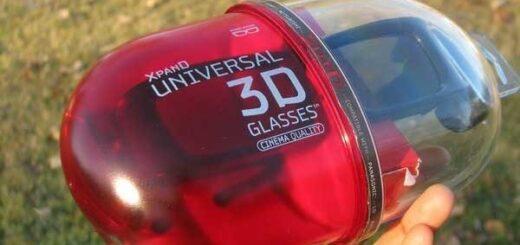 Ochelari XpanD si pentru televizor si cinematograf