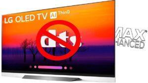TV LG No DTS